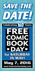 Free Comic Book Day 7th of May