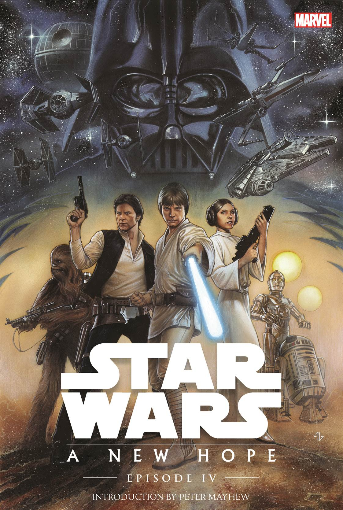 Star Wars Episode Iv New Hope 1977 1 6 Hc Impact Comics